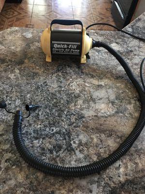 Quick fill electric pump for Raffs air mattress powerful for Sale in Miami, FL