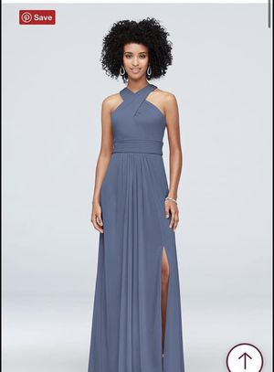Steel blue bridesmaid dresses or prom for Sale in West Covina, CA