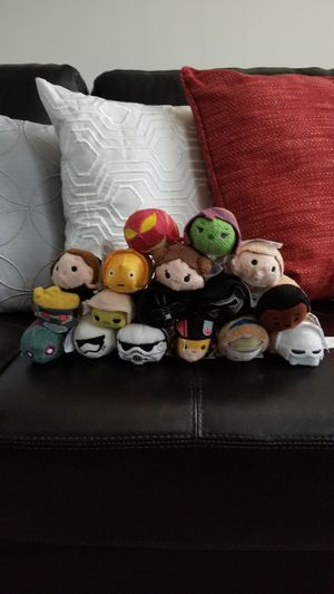 Disney Star Wars & Marvel Tsum Tsum 17 pcs for Sale in Manassas Park, VA