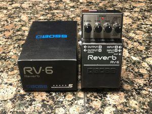 Boss RV6 reverb pedal for Sale in Clovis, CA