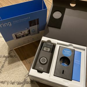 Ring Video Doorbell 2 for Sale in Mount Vernon, NY