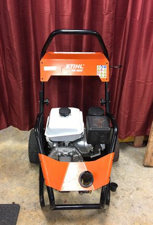 Stihl BR800 Pressure washer with wand and hose for Sale in Monroe, WA