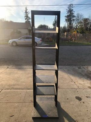 Industrial Metal 6ft 6 Tier Recessed Rack for Sale in Fresno, CA