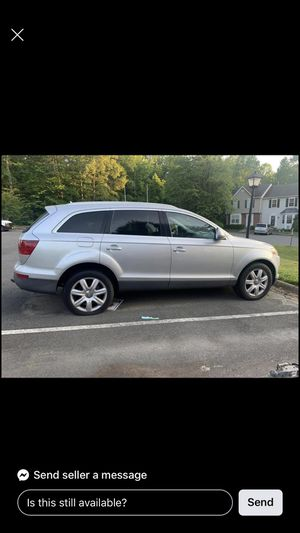 2007 Audi Q7 (parts) for Sale in Waldorf, MD