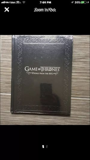 Game Of Thrones Visuals from the RPG NEW for Sale in Wayland, MA