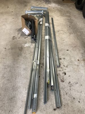 Garage door tracks, springs, installation hardware for Sale in PA, US