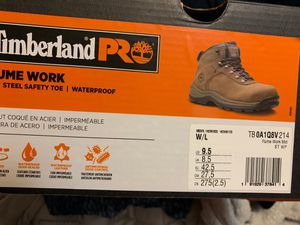 Timberland Work Boots Steel Toe - Size 9.5 never used! for Sale in Boston, MA