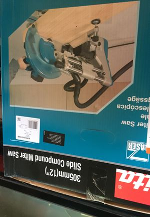 Makita 305mm slide compound miter saw for Sale in Oakland, CA