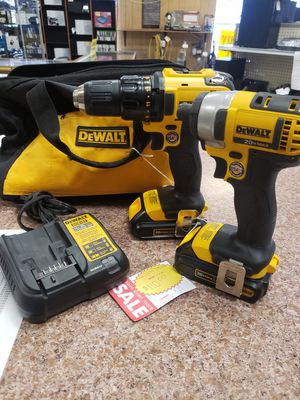 Dewalt drill and impact combo for Sale in Pflugerville, TX