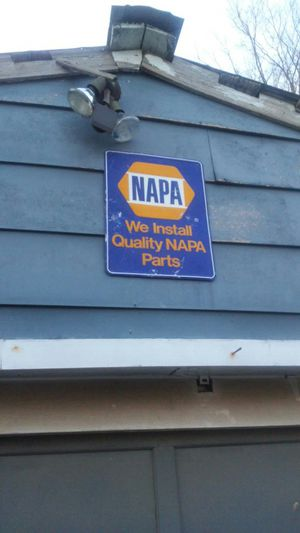 Antique Napa sign for Sale in Charlotte, NC