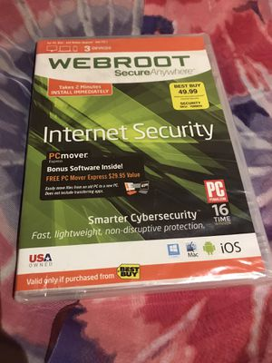 Webroot Internet Security for Sale in Las Vegas, NV