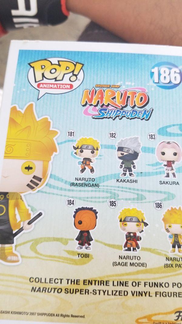 Naruto Six Paths Hot Topic