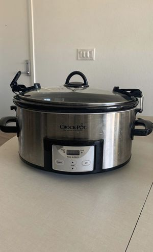 6qt crock pot for Sale in Henderson, NV