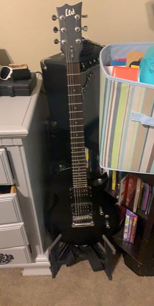 LTD electric guitar with amp for Sale in Midlothian, TX