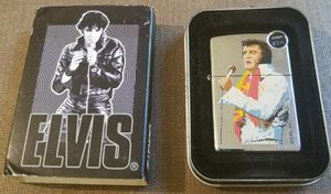 Elvis Presley picture 2002 zippo lighter new for Sale in Three Rivers, MI