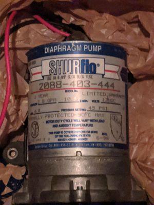 Shurflo water pump rv for Sale in Encinitas, CA