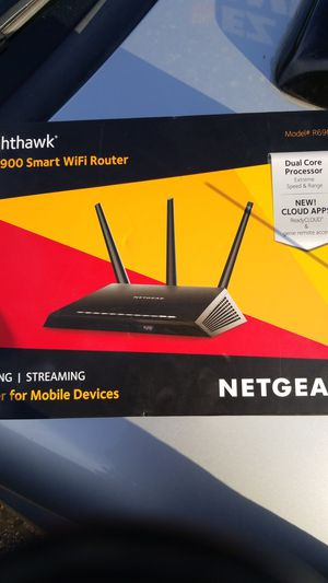 Nighthawk AC1900 Smart WiFi Router for Sale in Lakewood, CO