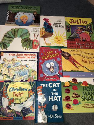 10 children's books lot for younger kids for Sale in San Francisco, CA