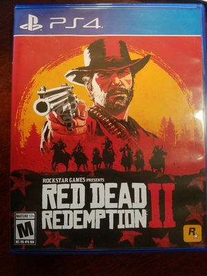 Red Dead Redemption 2 for PS4 for Sale in Gaithersburg, MD