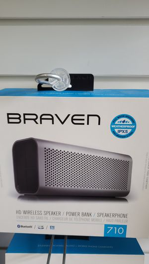 Braven bluetooth speaker for Sale in Silver Spring, MD