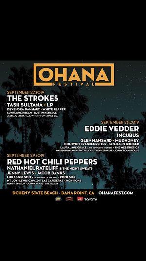 Ohana fest 2019 sat GA for Sale in Montebello, CA