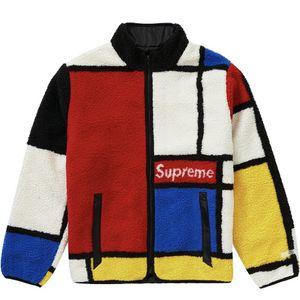 Supreme Reversible Colorblocked Fleece Red for Sale in Mesa, AZ