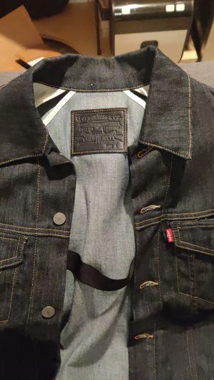 Levi dark wash men's denim jacket L for Sale in Manassas, VA