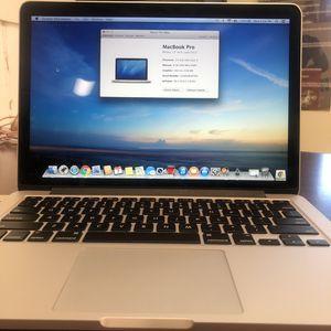 2013 MacBook Pro for Sale in Oceanside, CA