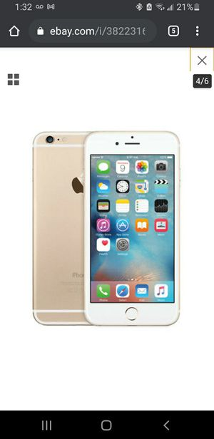 IPhone 6 plus 64 gb _ Excellent condition for Sale in GREYSTONE PARK, NJ