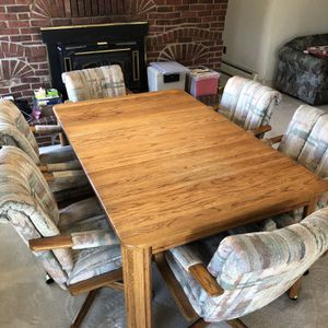 Dining Room Table And 6 Chairs for Sale in Arvada, CO