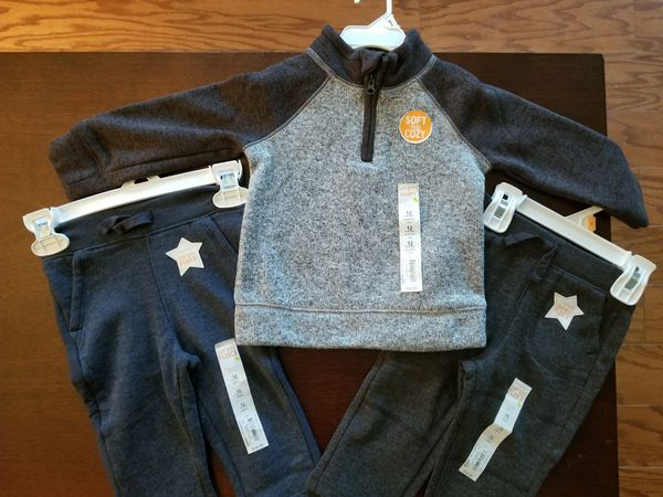 NEW 12-month baby boy clothes
