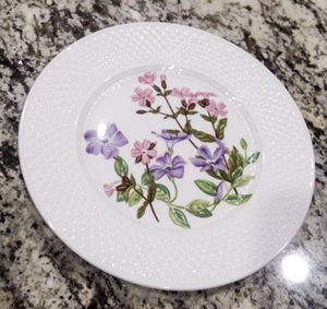 Spode Luncheon Plate SP160 Pink and Purple Flowers for Sale in Southlake, TX