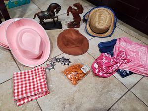 Cowboys and cowgirls birthday party decoration. Decoracion de cumpleaños de vaqueras y vaqueros. for Sale in Tampa, FL