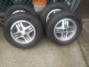 Mazda 4 lug New Snow tires.Grip that road! for Sale in Seattle, WA