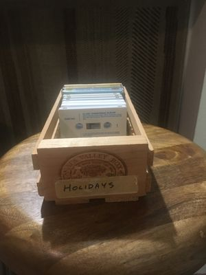 Napa Valley Box Cassette Storage for Sale in Houston, TX