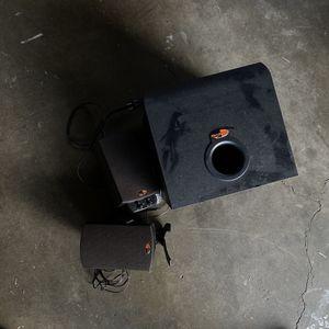 Klipsch promedia 2.1 speakers + subwoofer for Sale in Portland, OR