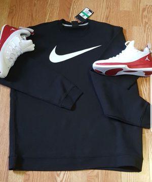 Nike sweatshirt black men's size M,L,XL. for Sale in El Cajon, CA