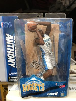 McfarlAne toys series 8 Carmelo Anthony Denver nuggets collectible figurine for Sale in Queens, NY