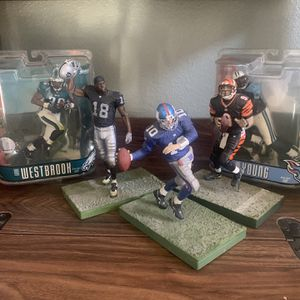 NFL McFarlane Toy Figures for Sale in Santa Rosa, CA