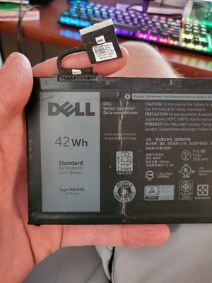 Dell Laptop 42Wh Replacement Battery WDXOR for Sale in Albuquerque, NM