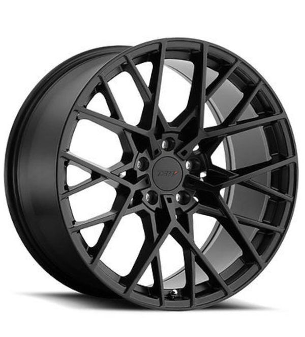 20 Inch 20x10 TSW SEBRING Matte Black Wheel Rim 5x4.5
