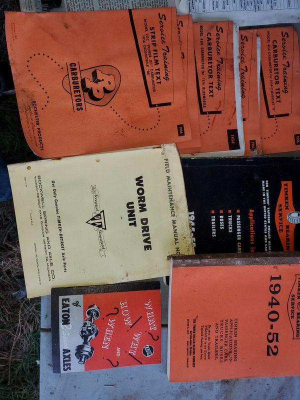 Manuals- Truck, parts etc 1949-1956