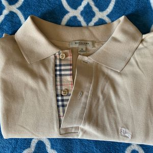 Burberry Polo Tan size Medium for Sale in Victorville, CA