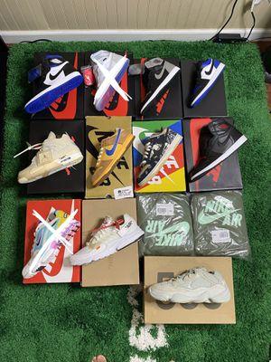 Selling bulk or single, Nike, offwhite,yeezy,dunks,Travis for Sale in Seattle, WA