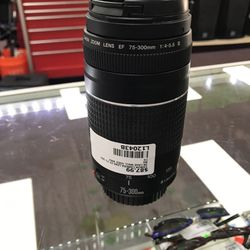 Canon Camera Lens EF 75-300mm for Sale in Houston,  TX