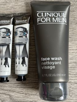 CLINIQUE Face Wash & glamglow mask for Sale in Queens,  NY