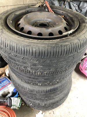 5 Lug wheels with tires for Sale in SeaTac, WA