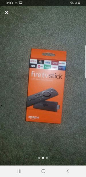 Fire tv stick for Sale in Chino Hills, CA