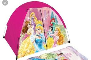 Princess tent and kids fold up chair for Sale in Las Cruces, NM