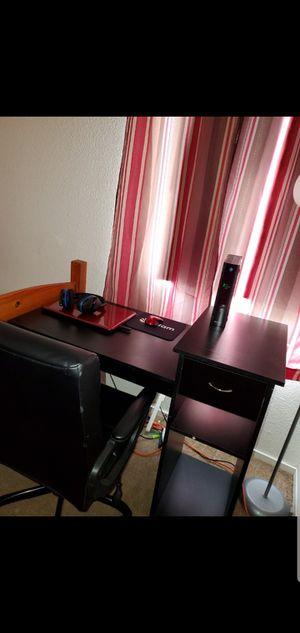 Black desk for Sale in Squaw Valley, CA